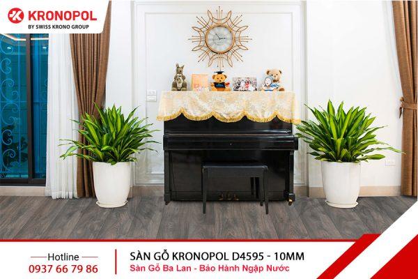 Sàn gỗ Kronopol Cốt Xanh D4595 - 10mm