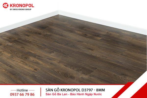 Sàn gỗ Kronopol Cốt Xanh D3797 - 8mm