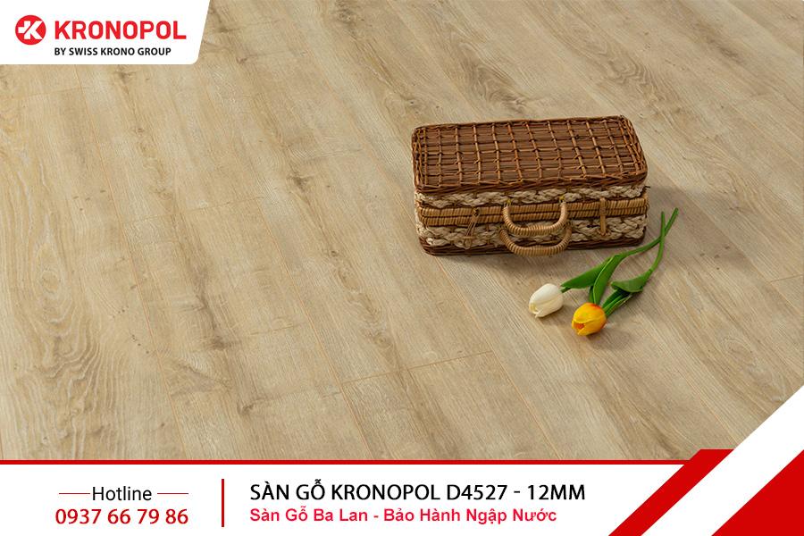 Sàn gỗ Kronopol Cốt Xanh D4527 - 12mm