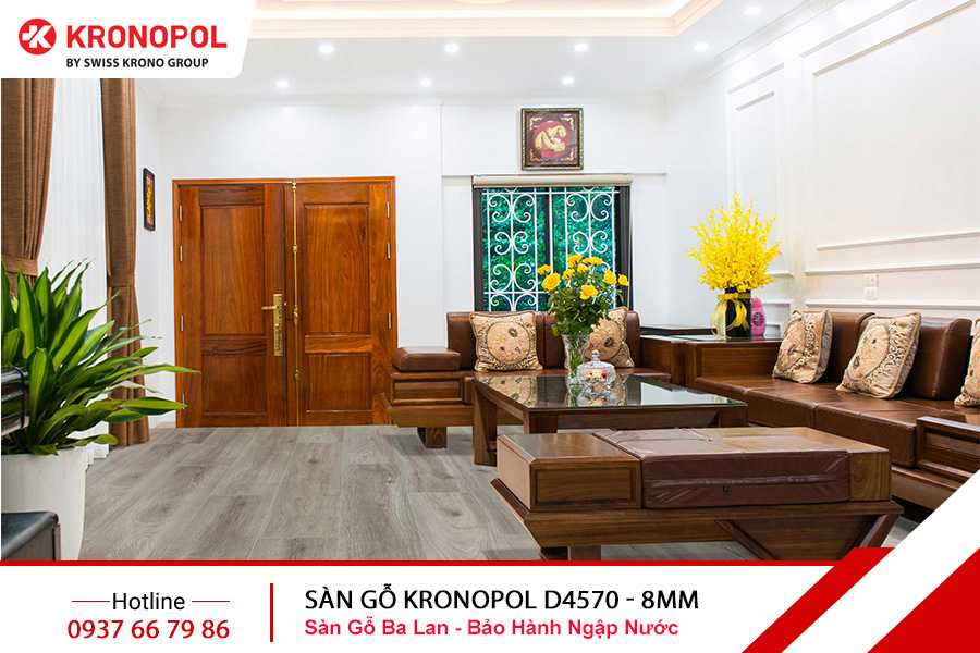Sàn gỗ Kronopol Cốt Xanh D4570 - 8mm