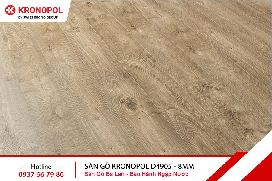 Sàn gỗ Kronopol Cốt Xanh D4905 - 8mm