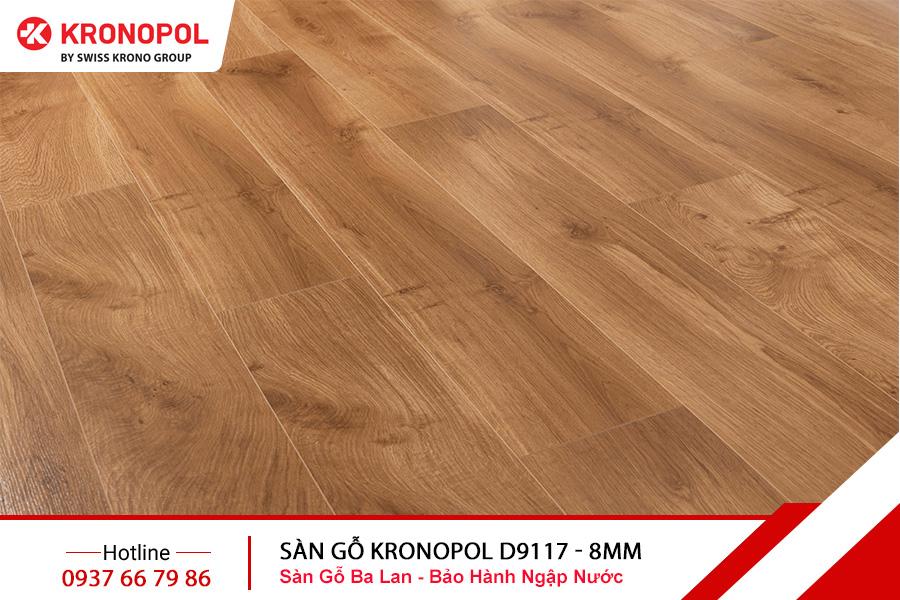 Sàn gỗ Kronopol Cốt Xanh D9117 - 8mm