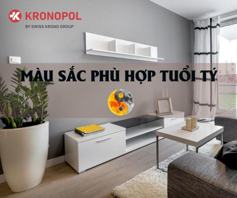 Màu sắc phong thủy - Tuổi Tý - Sàn gỗ Kronopol
