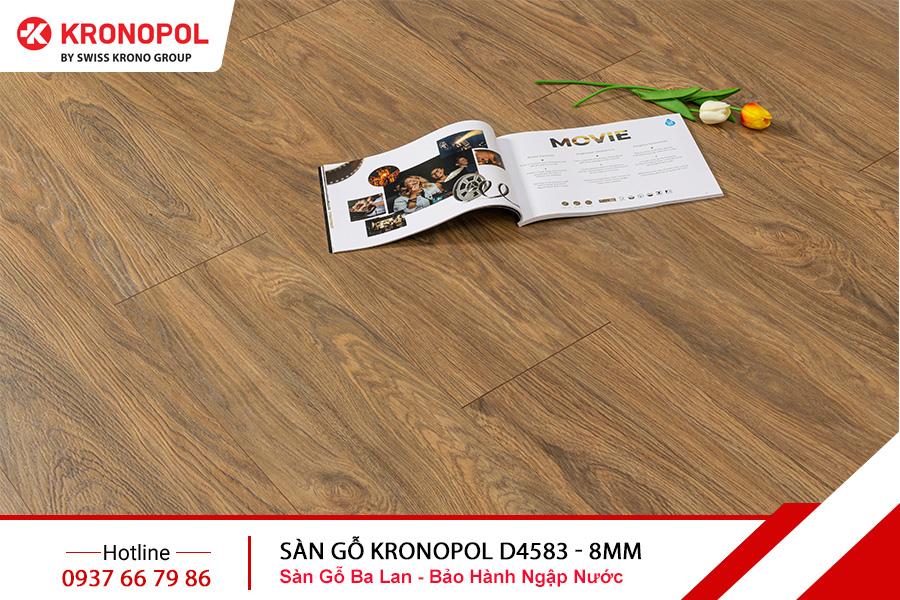 Sàn Gỗ Kronopol cốt xanh D4583 8mm